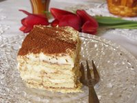 Kekszes finomság a tiramisu  ízeivel